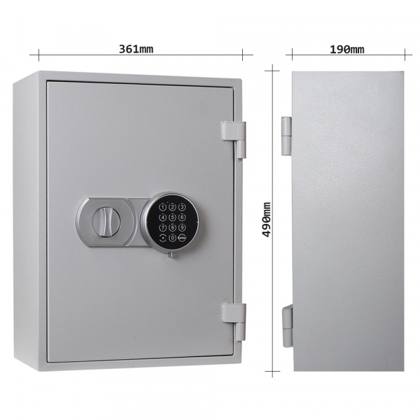 Seif antifoc pentru chei Fire Key 20 inchidere electronica 3