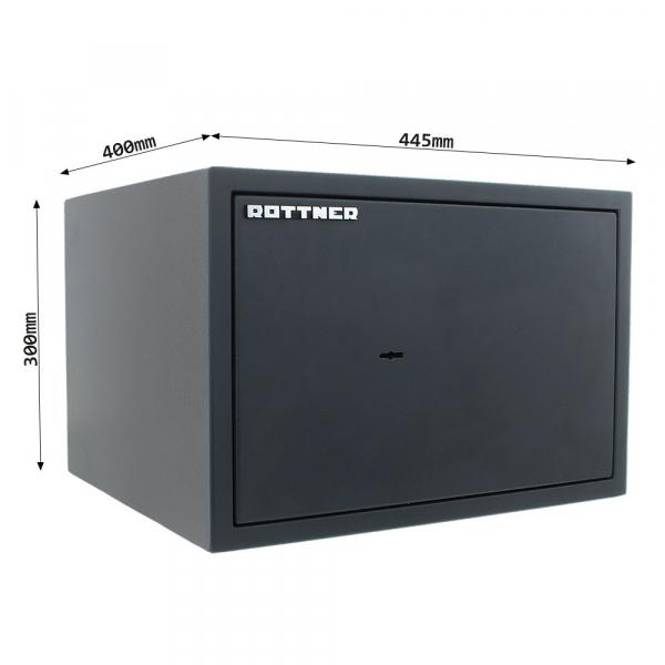 Seif certificat antiefractie Power Safe 300 inchidere cheie 3