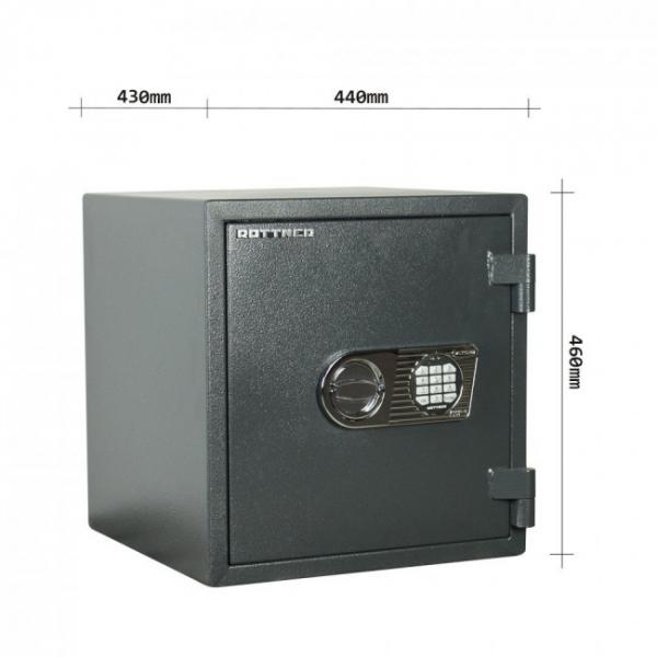 Seif certificat antiefractie antifoc Atlas 45 inchidere electronica 4