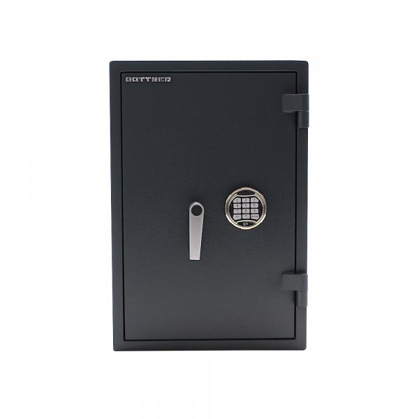 Seif certificat antiefractie antifoc Atlas 65 inchidere electronica si cheie SOS 1