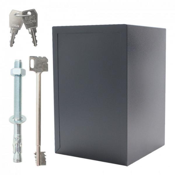 Seif certificat antiefractie antifoc Atlas 65 inchidere electronica si cheie SOS 5