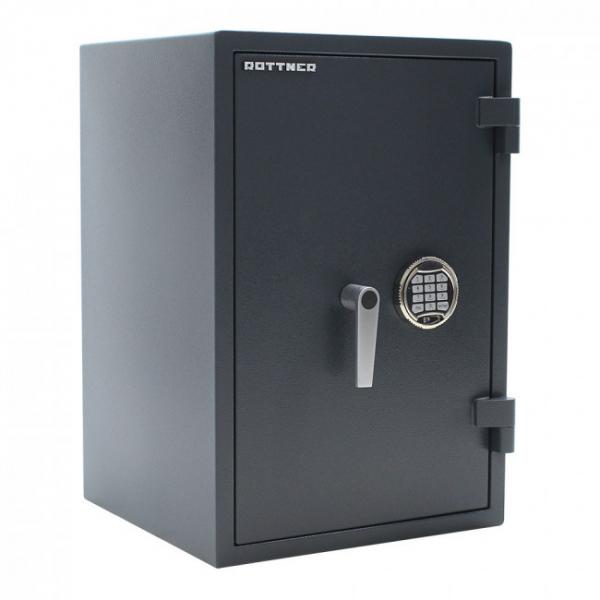 Seif certificat antiefractie antifoc Atlas 65 inchidere electronica si cheie SOS 0