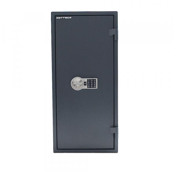 Seif certificat antiefractie antifoc Fire Hero 100 inchidere electronica 1