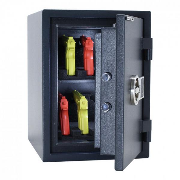 Seif certificat antiefractie antifoc Fire Hero 50 inchidere electronica 4