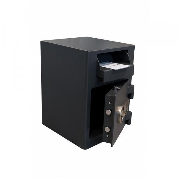 Seif certificat antiefractie cu sertar de alimentare RSR 2/19 inchidere electronica 0