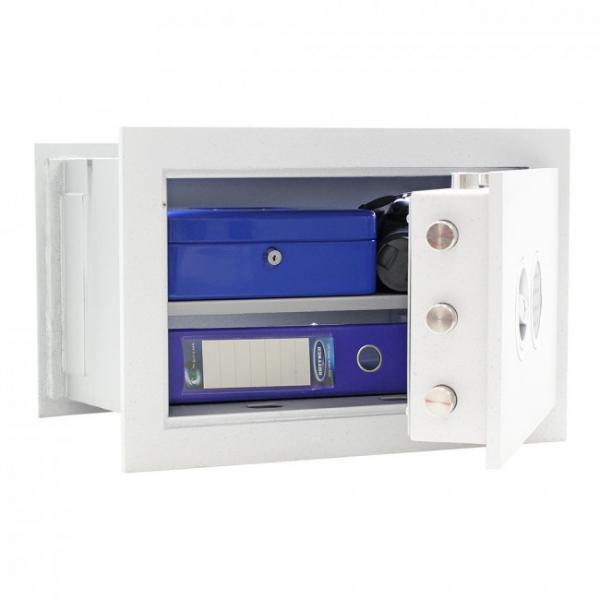 Seif certificat antiefractie incastrabil in perete Stone SE 35 inchidere electronica 2