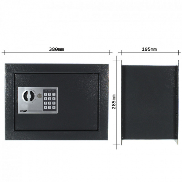 Seif incastrabil in perete Wallmatic 1 inchidere electronica 3