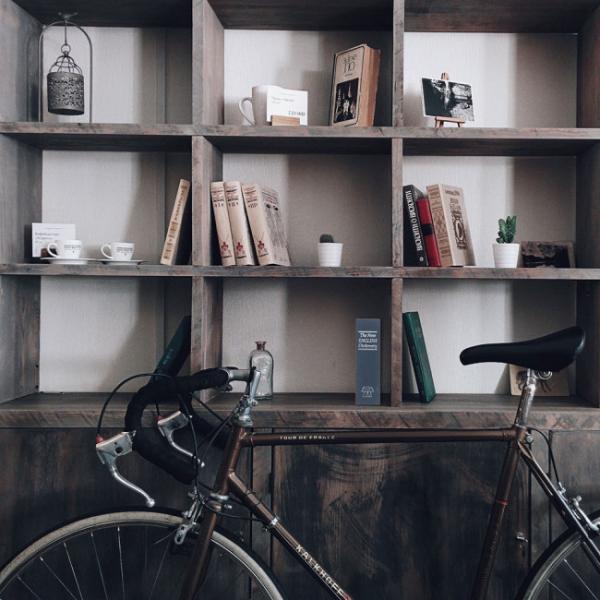Caseta valori Bookcase albastru inchidere cheie 7