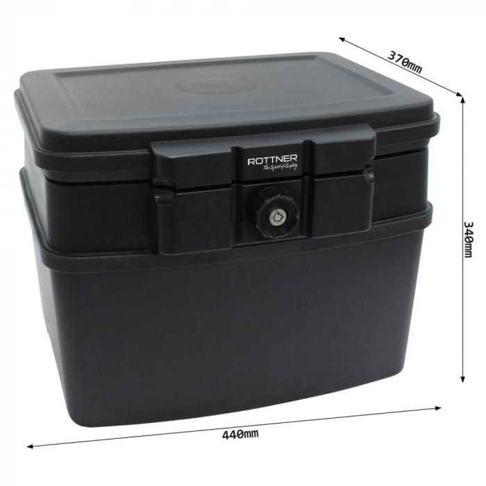 Caseta antifoc Fire Data Box 3 inchidere cheie [3]