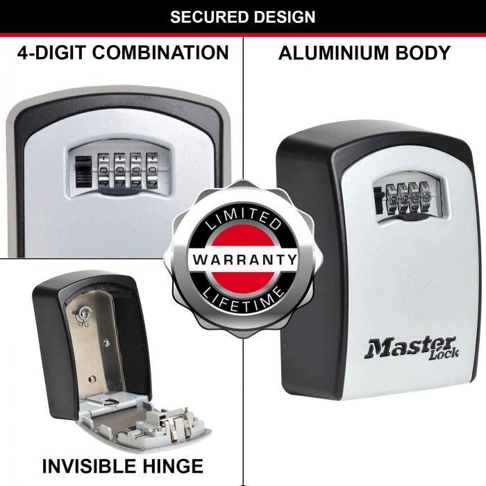 Cutie pentru chei 5403 EURD XL inchidere cifru [5]