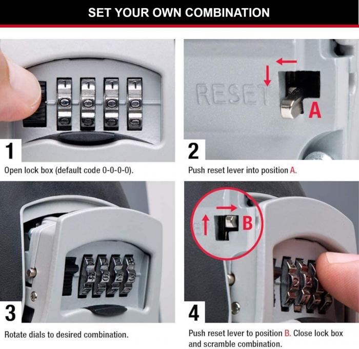Cutie pentru chei 5403 EURD XL inchidere cifru [7]