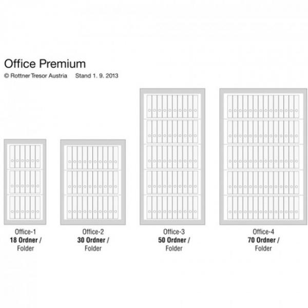 Dulap acte antifoc Office 1 Premium inchidere cheie 7