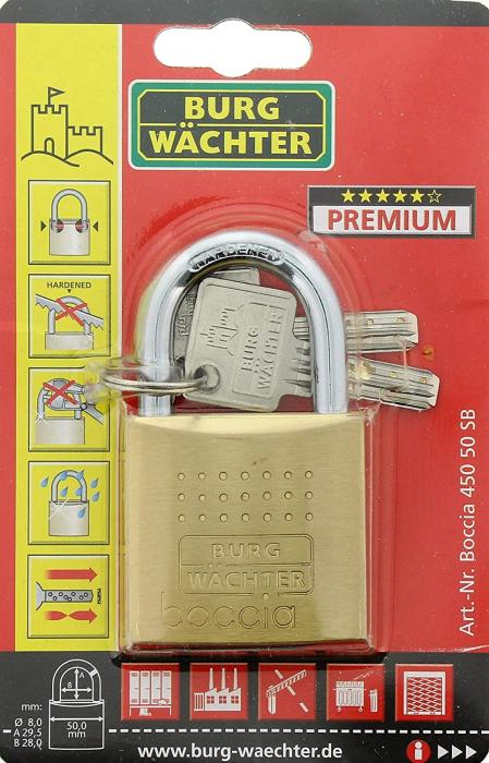 Lacat alama Boccia 450 50 6 SB inchidere cheie [6]
