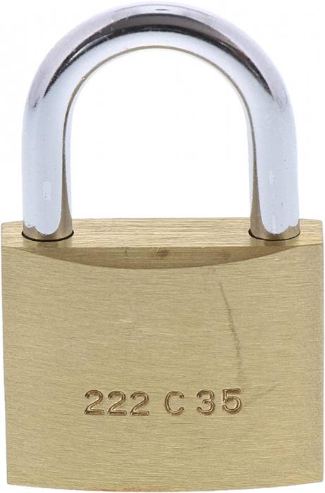 Lacat alama C-Line 222 C 35 SB inchidere cheie [1]
