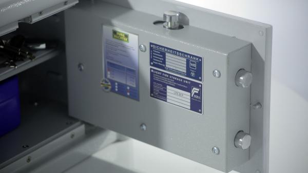 Seif certificat antiefractie antifoc CL10 E inchidere electronica 3