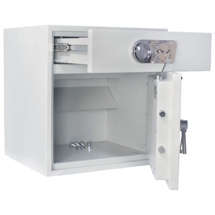 Seif certificat antiefractie cu sertar de alimentare RSR 1/67 inchidere cheie [9]