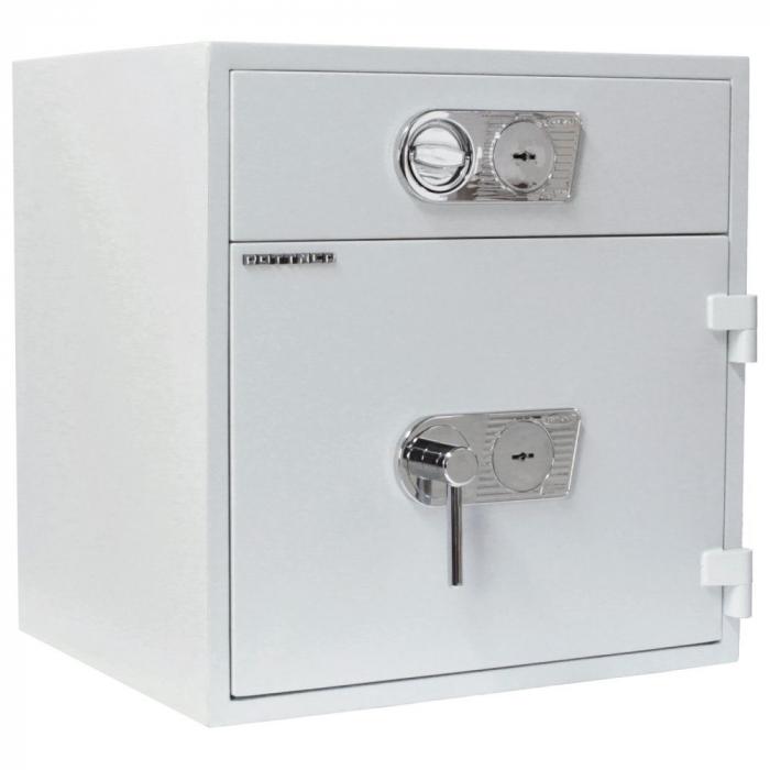Seif certificat antiefractie cu sertar de alimentare RSR 1/67 inchidere cheie [0]