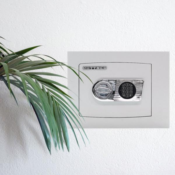 Seif certificat antiefractie incastrabil in perete Delta 30 inchidere electronica 4
