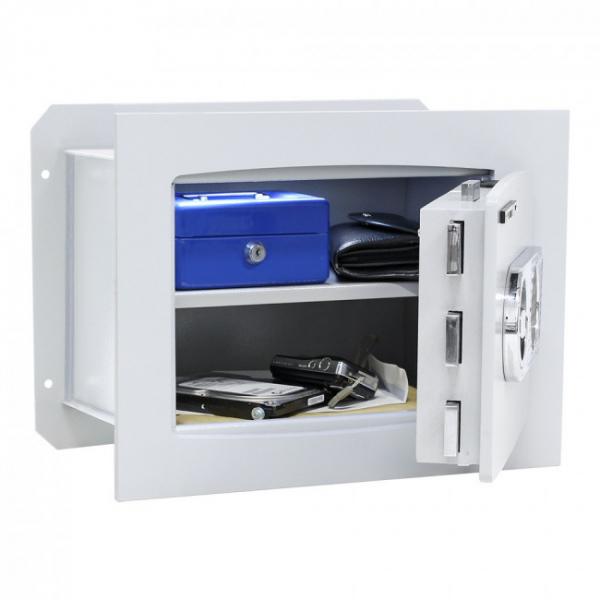 Seif certificat antiefractie incastrabil in perete Delta 30 inchidere electronica 2