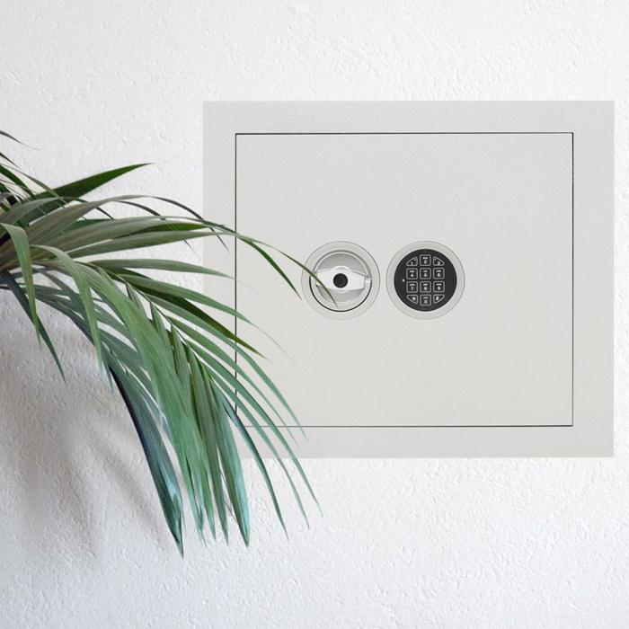 Seif certificat antiefractie incastrabil in perete Stone SE 45 inchidere electronica [5]
