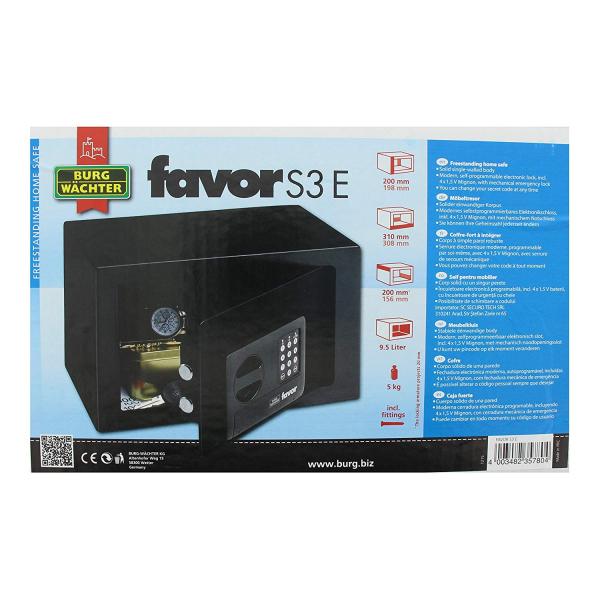 Seif Favor S3 E inchidere electronica 5