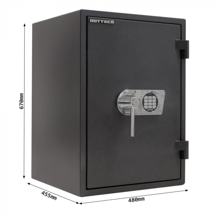 Seif certificat antiefractie antifoc Fire Profi 65 inchidere electronica [4]