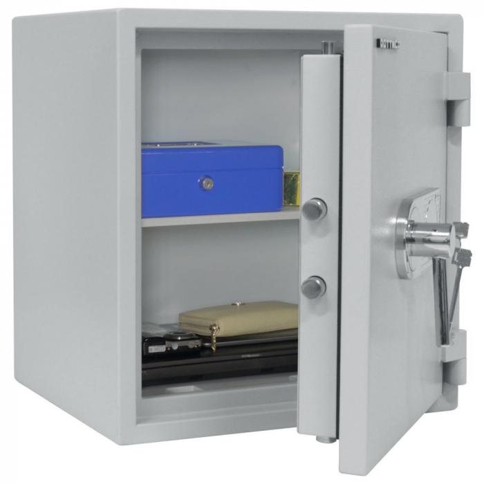 Seif certificat antiefractie antifoc Opal Fire Premium OPD 55 inchidere cheie [2]