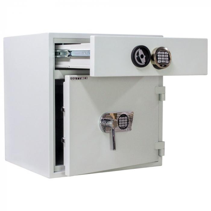 Seif certificat antiefractie cu sertar de alimentare RSR 1/67 inchidere electronica [2]