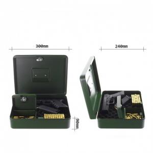 Caseta pistol Gunbox  inchidere cheie2