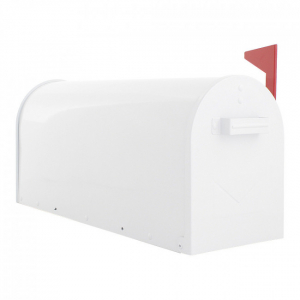 Cutie postala US Mail Box alba0