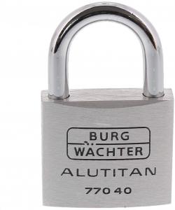 Lacat aluminiu Alutitan 770 40 SB inchidere cheie1