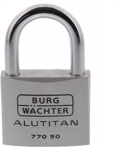 Lacat aluminiu Alutitan 770 50 SB inchidere cheie1