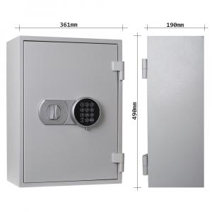 Seif antifoc pentru chei Fire Key 20 inchidere electronica3