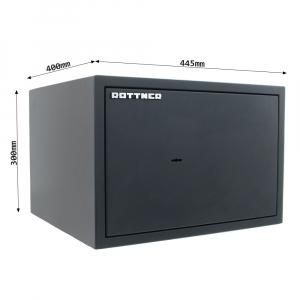 Seif certificat antiefractie Power Safe 300 inchidere cheie3