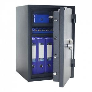 Seif certificat antiefractie antifoc Atlas 65 inchidere electronica si cheie SOS3