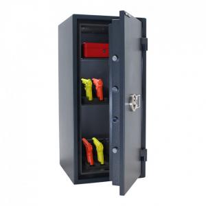 Seif certificat antiefractie antifoc Fire Hero 100 inchidere electronica4