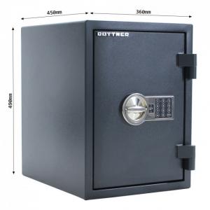 Seif certificat antiefractie antifoc Fire Hero 50 inchidere electronica5