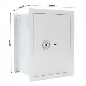 Seif certificat antiefractie incastrabil in perete Stone SE 65 inchidere cheie [3]