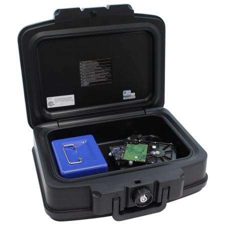 Caseta antifoc Fire Data Box 2 inchidere cheie [2]