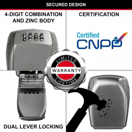 Cutie pentru chei 5415 EURD inchidere cifru [4]