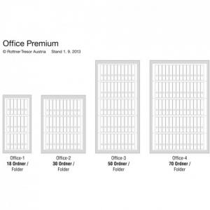 Dulap acte antifoc Office 4 Premium inchidere cheie6