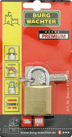 Lacat alama Boccia 450 30 SB inchidere cheie [6]