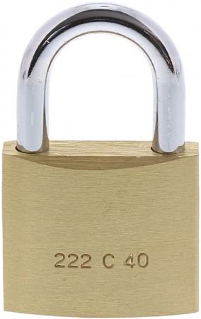 Lacat alama C-Line 222 C 40 SB inchidere cheie [1]