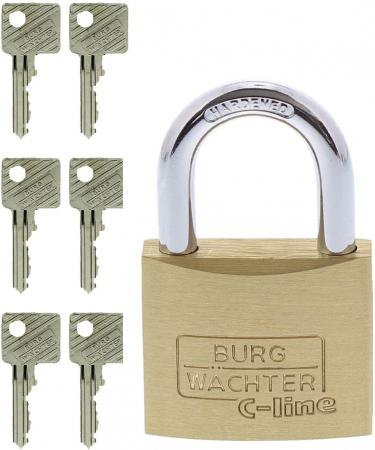 Lacat alama C-Line 222 C 40 6 SB inchidere cheie [4]