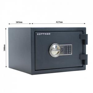Seif certificat antiefractie antifoc Fire Hero 30 inchidere electronica4