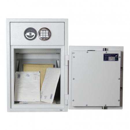 Seif certificat antiefractie cu sertar de alimentare RSR 1/65 inchidere electronica [3]