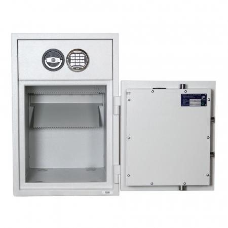 Seif certificat antiefractie cu sertar de alimentare RSR 1/65 inchidere electronica [1]