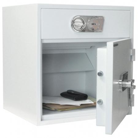 Seif certificat antiefractie cu sertar de alimentare RSR 1/67 inchidere cheie [10]