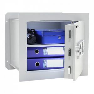 Seif certificat antiefractie incastrabil in perete Delta 40 inchidere electronica2