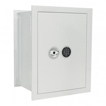 Seif certificat antiefractie incastrabil in perete Stone SE 65 inchidere electronica [0]